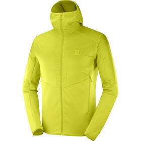Salomon Outline Warm Jas Heren, citronell